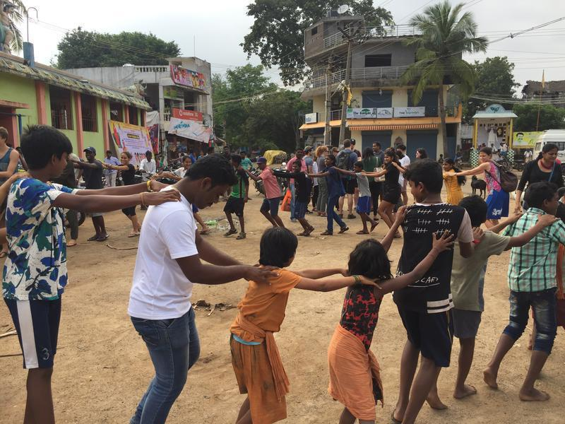 Photographer:Radio Team | Fun and Games at the community event