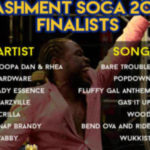 Barbados Soca Festival 2017 finalist list