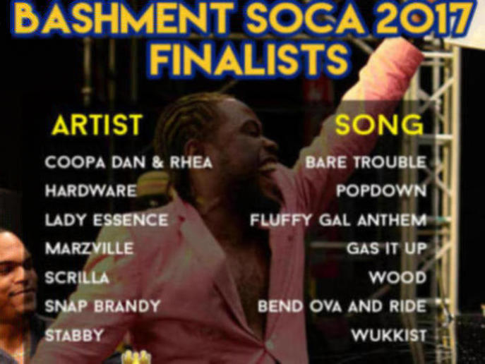 Photographer:web | Barbados Soca Festival 2017 finalist list