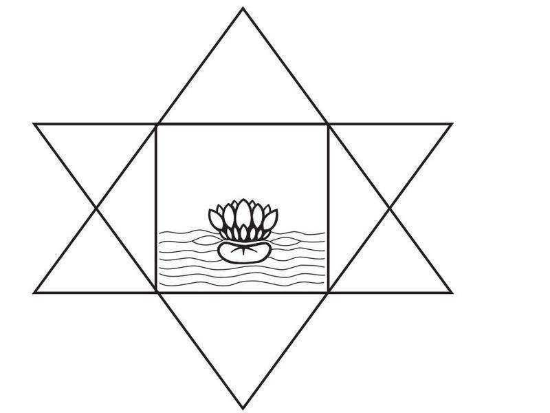 Photographer:Sri Aurobindo Ashram Archive | symbol of Sri Aurobindo