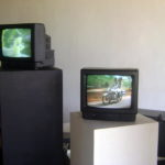 art installation of footage made over 5 decades of Auroville
