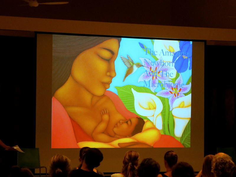 Photographer:Zoe | Photo mentioned: The Amazing Human Newborn and the Microbiome