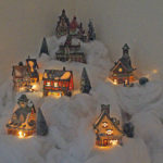 Christmas village (donated by Fif and Hamsih)
