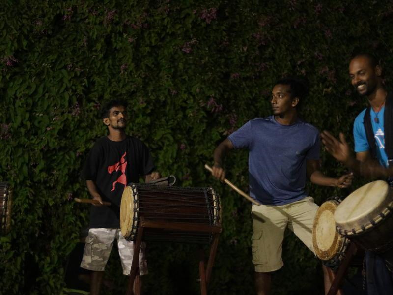Photographer:Zoe | Percussion collaboration