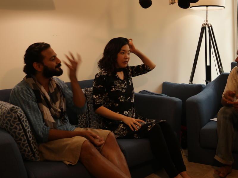 Photographer:zoe | Interview with Ayumi & Bhrigu