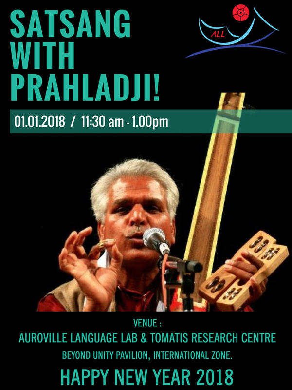 Photographer:web   New Year Satsang on 1st at 11.30am with Prahadji Tifanya