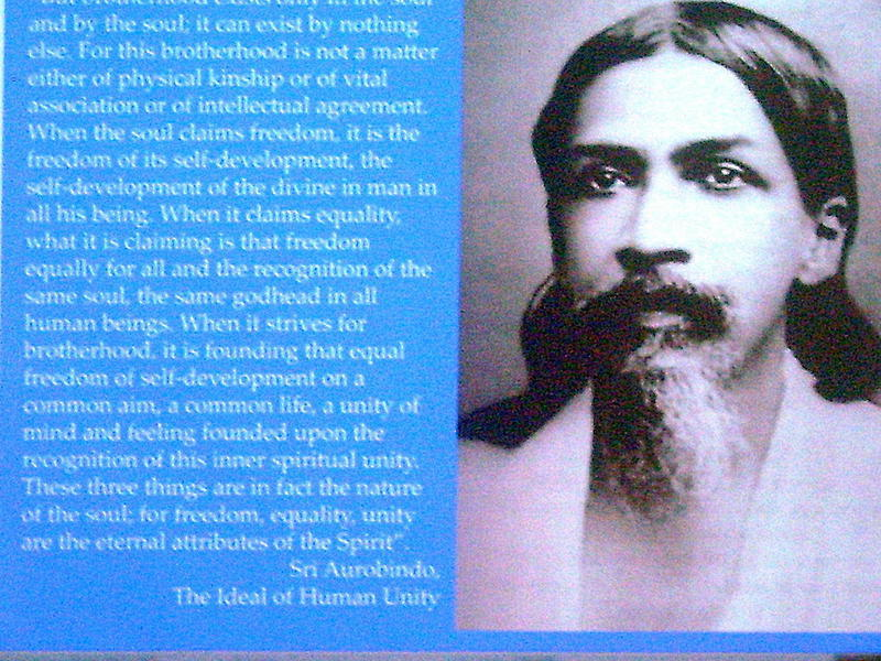 Photographer:Lena | Sri Aurobindo on ideal  of Human Unity