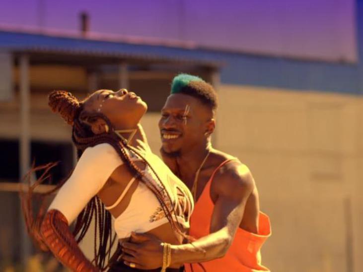 Photographer:web | Jidenna Boomerang with dancers - Omari Mizrahi and Akosua Akoto
