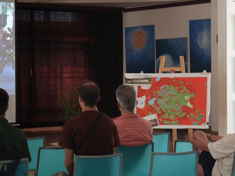 Photographer:Zoe | Auroville's Land presentation