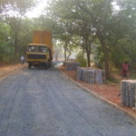 progress on the road from SK roundabout