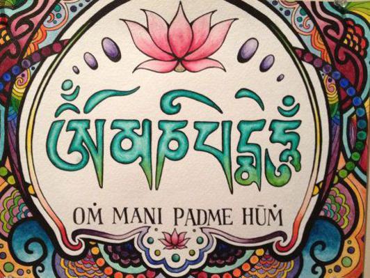 Photographer:web | Om Mani Padme Hum