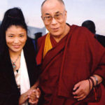 Yungchen Lhamo  and H.H Dalai Lama