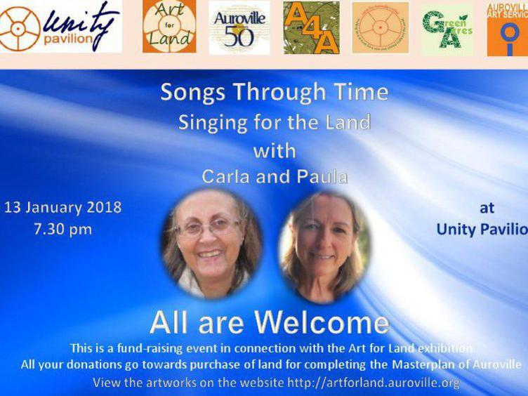 Photographer:web   Songs Through Time with Carla and Paula on 12th at UP
