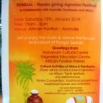 Pongal at Africa House with Mohanam Cultural Centre, IEC,