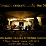<b>A Carnatic Concert Under the Stars</b>