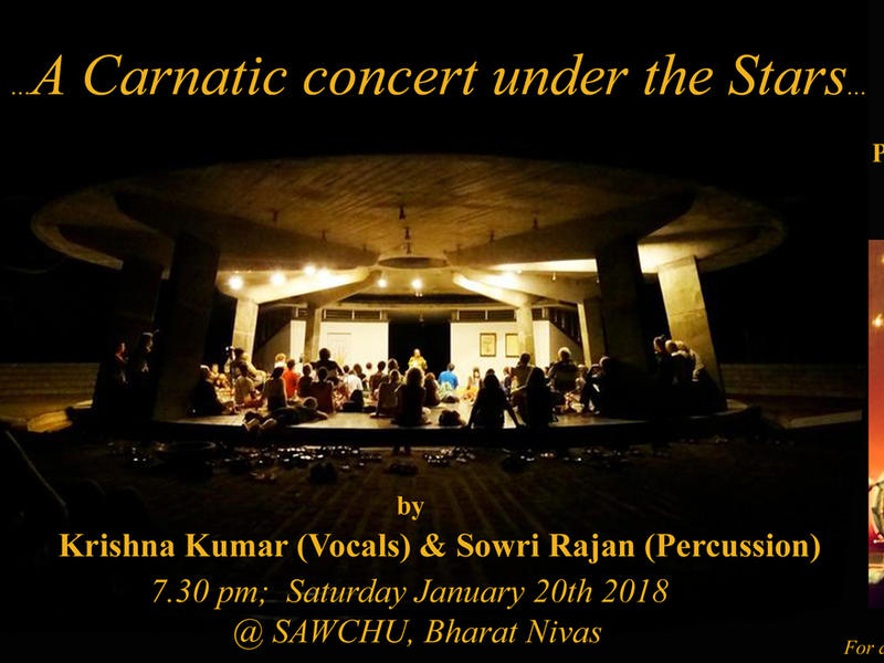 Photographer:web | A Carnatic Concert Under the Stars