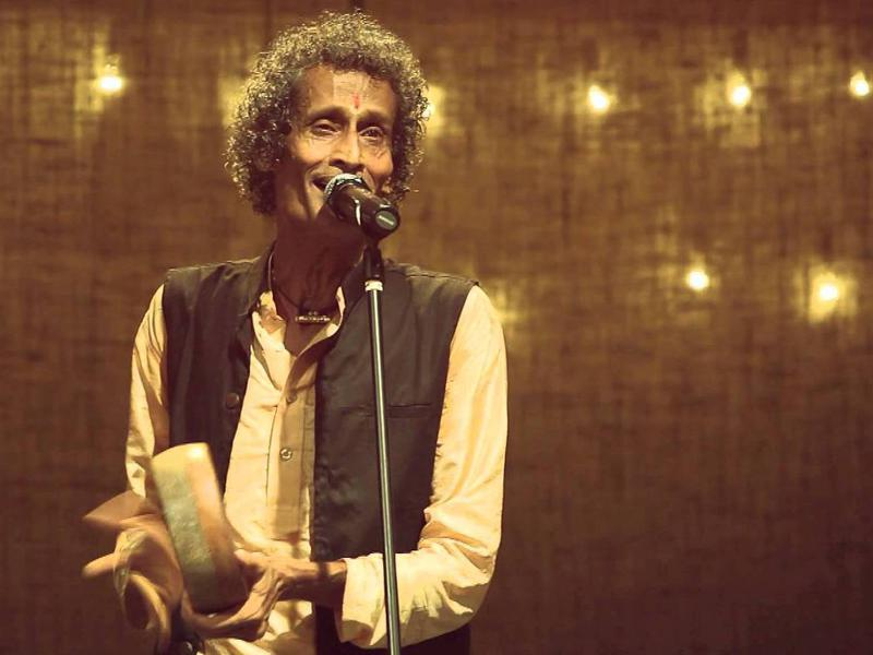Photographer:web | Krishna Kumar in one of previous concerts in Auroville