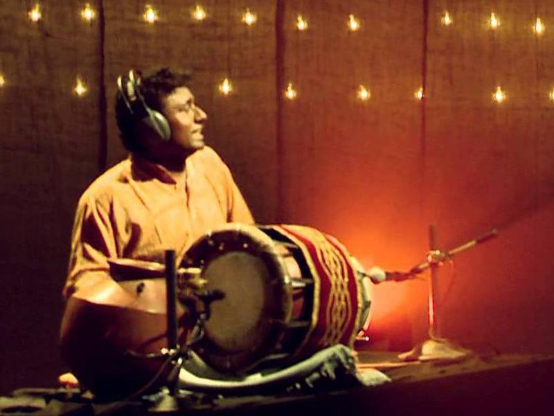 Photographer:web | Sowri Rajan on percussion (previous event)