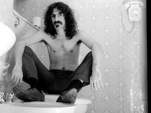 Photographer:Robert Davidson | Frank Zappa at the Royal Garden Hotel, London in 1967