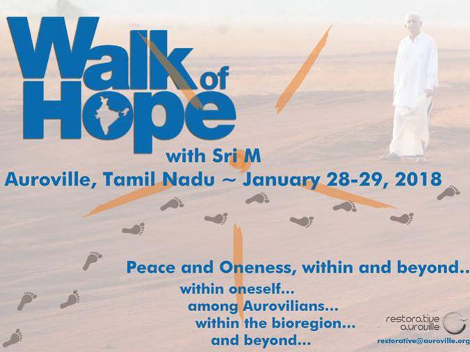 Photographer:web | Walk of Hope  on 27th, 28th adn 29th in AV and bioregion