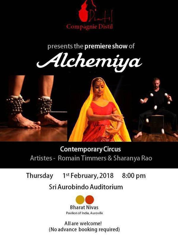 Photographer:web   Alchemiya tonight at 7.30pm at BN
