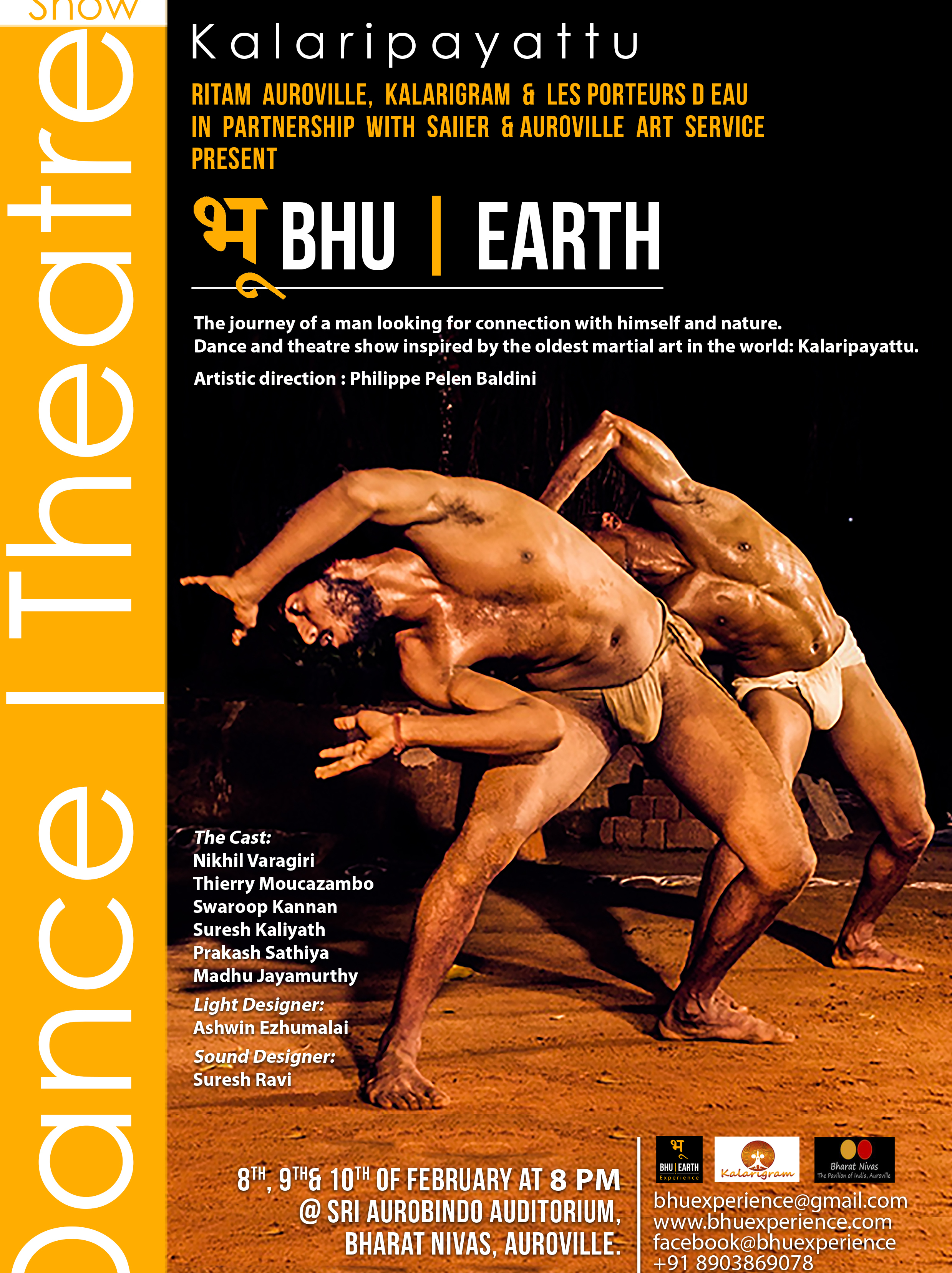 Photographer:web | Bhu/Earth on 8th, 9th and10th at 8pm at Bharat Nivas