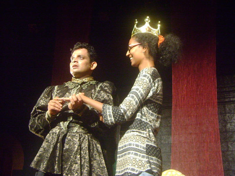 Photographer:Amadea | MAdbeth and the queen(from audience)