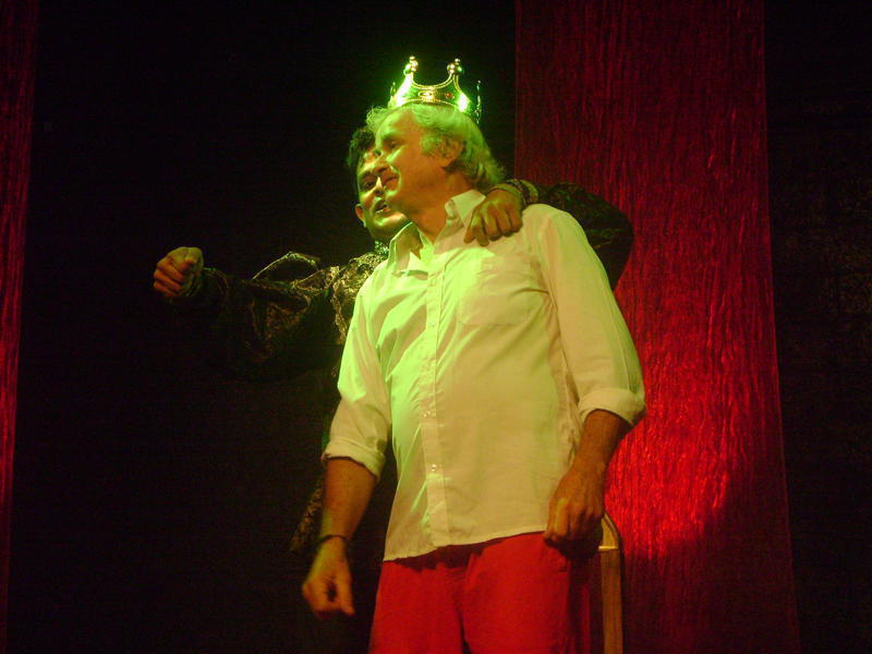 Photographer:Amadea | MAdbeth adn the king of Scotland (to be mrudered by Madbeth)