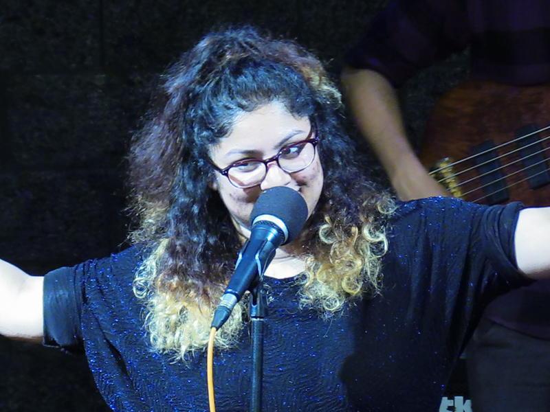 Photographer:S. Praneeth Simon | Vocalist Shreya Bhattacharya performing live at Adishakt