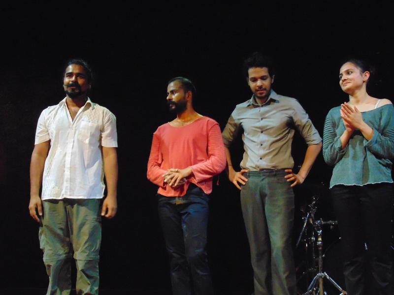 Photographer:Yana   actors with director Sujay Saple