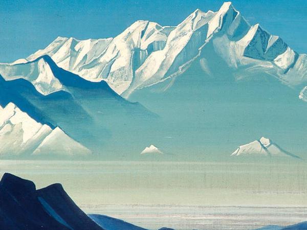Photographer:web | Nicholas Roerich Himalyas