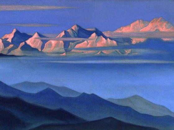 Photographer:web | Nicholas Roerich - Search for Shambala