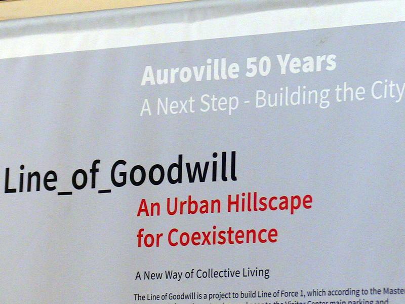 Photographer:S. Praneeth Simon | Planning for the 'Auroville Dream City' concept