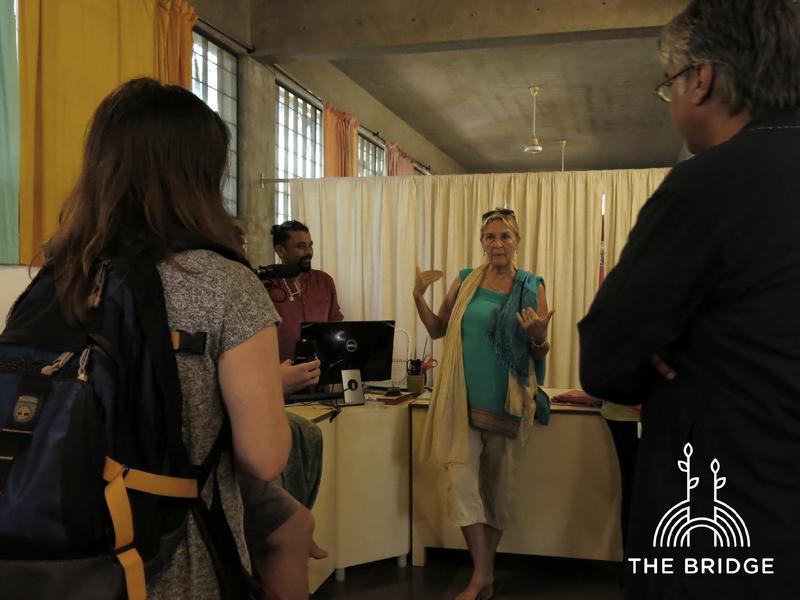 Photographer:Cassandra | Aurovilians Nicole and Muthu share