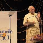 <b>Prime Minister Narendra Modi visits Auroville</b>