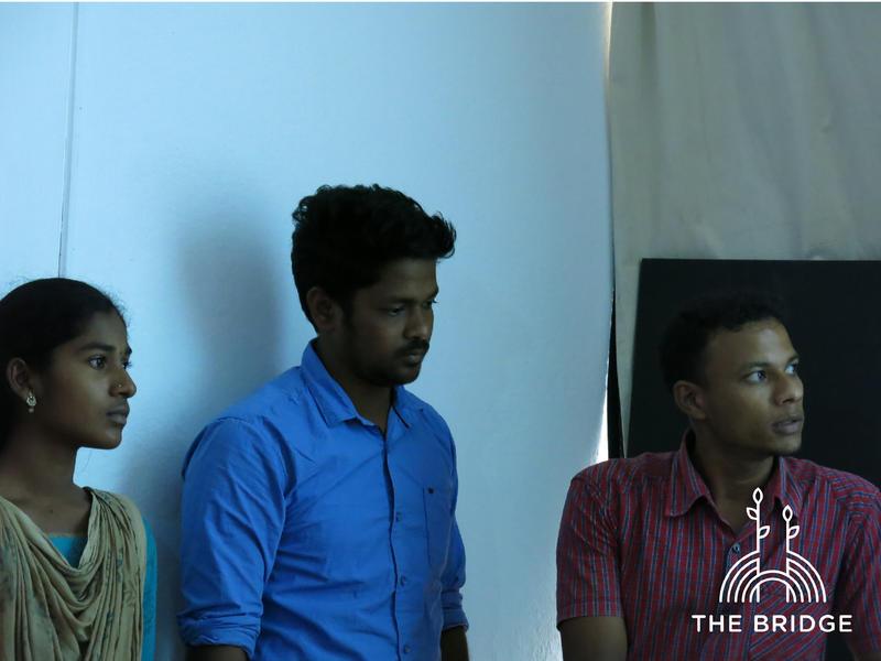 Photographer:Cassandra   Arun, Pratap and Poovizhi present their innovative teaching methods