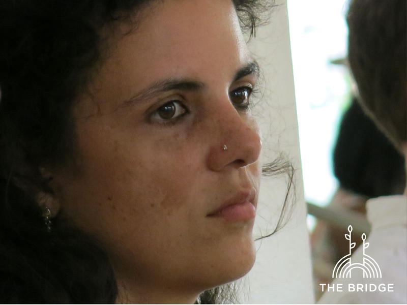 Photographer:Cassandra | Aditi, co-organizer of The Bridge
