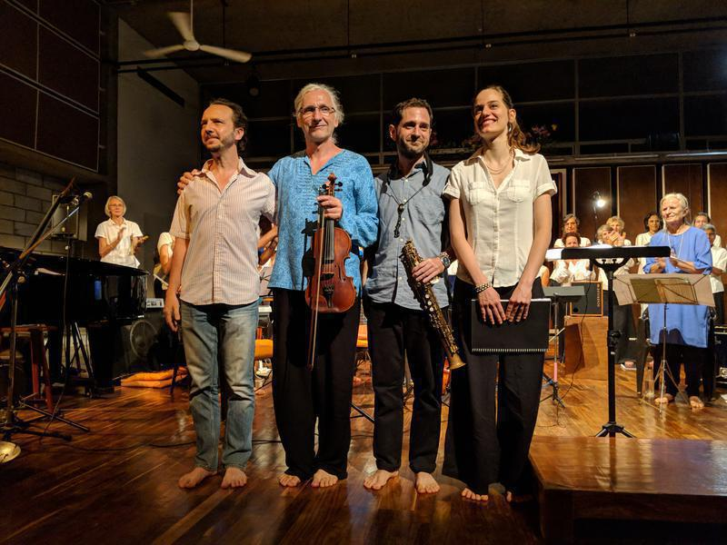Photographer:Steve | Composers, Pushkar, Holger, Matthew, Anandi.