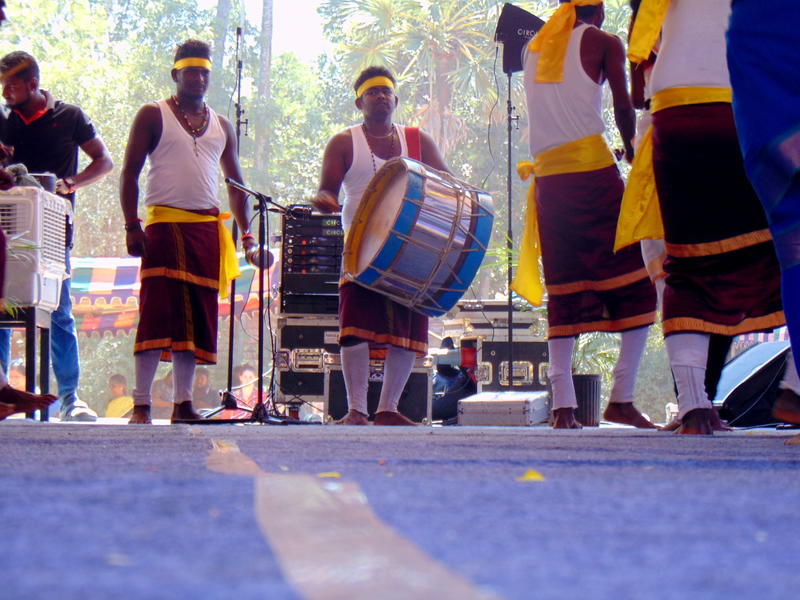 Photographer:Yana | drummers were giving the beats