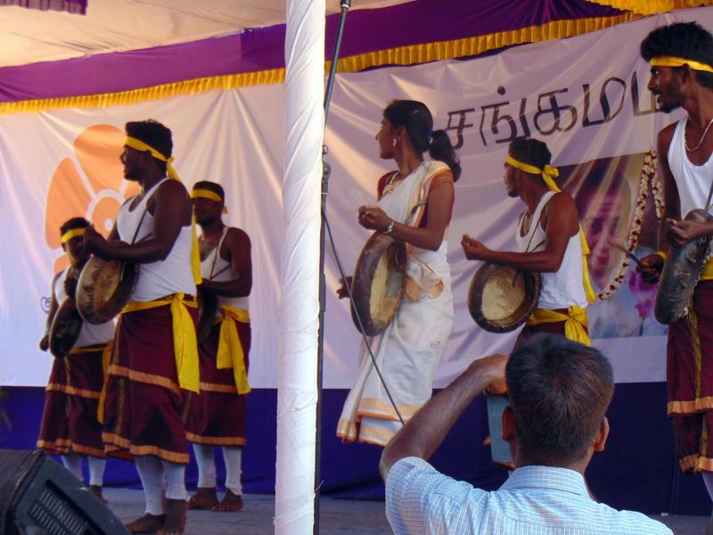 Photographer:Yana | Thappattam dancers