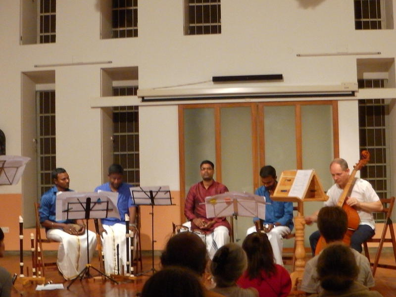 Photographer:karthick | Pondicherry flûte quartet playing