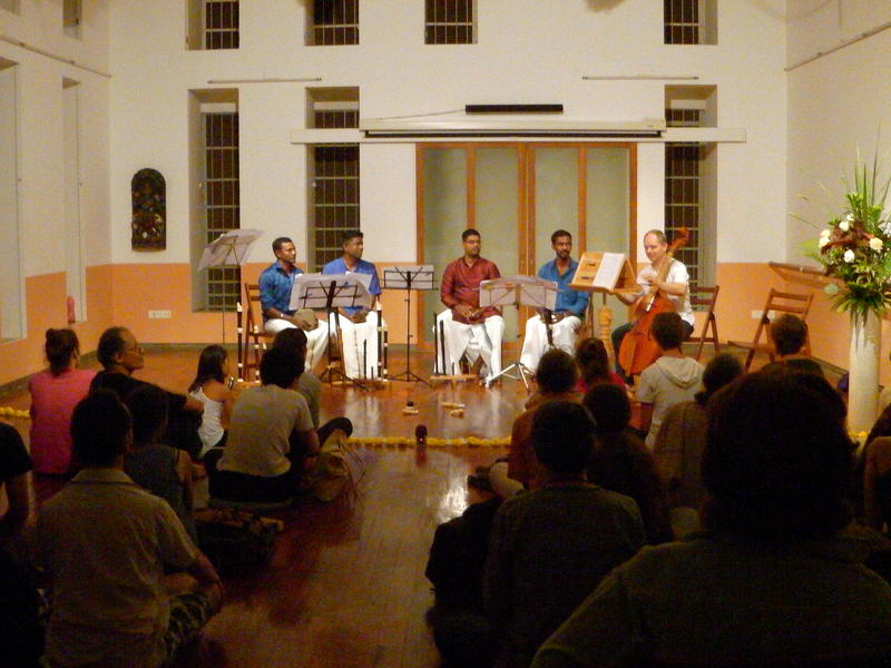 Photographer:karthick | The Band with the audience