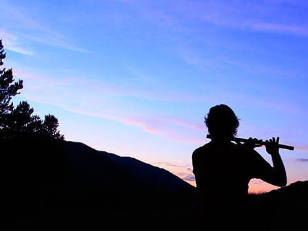 Photographer:web | searching for the best sound in flute