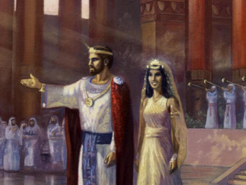 Photographer:Web | Solomon and the Queen of Sheba
