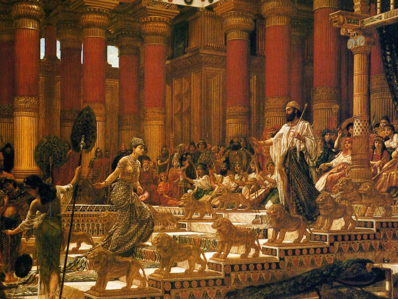 Photographer:Web | The meeting of King Solomon and the Queen of Sheba