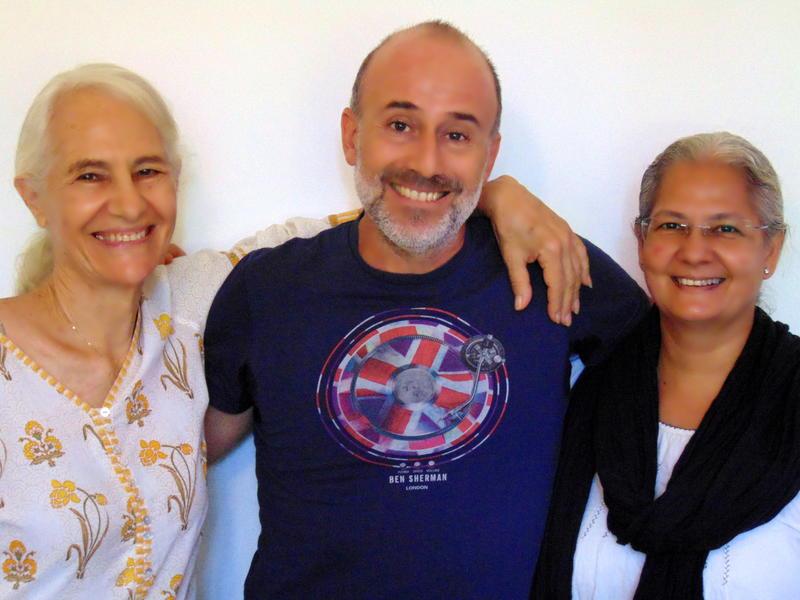 Photographer:Radio Team   Loretta, Andrea and Swati