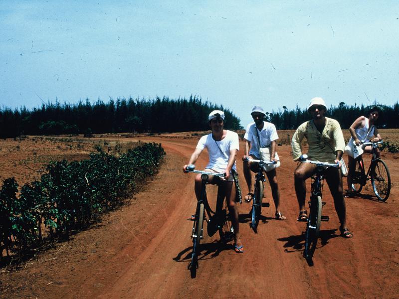 Photographer:Mauro   Il mezzo di trasporto piu comune era la bicicletta (foto del 1979 circa)