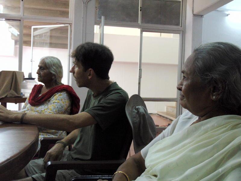 Photographer:Zarya | Chetana Arya, visiting guest and Mrs. Jaya Patel