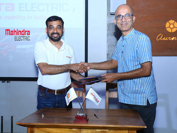 Photographer:web | Mahindra electric to collaborate with ITS (Min)