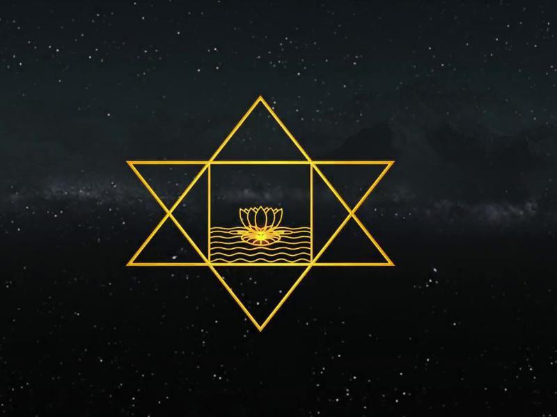 Photographer:web   Sri Aurobindo symbol